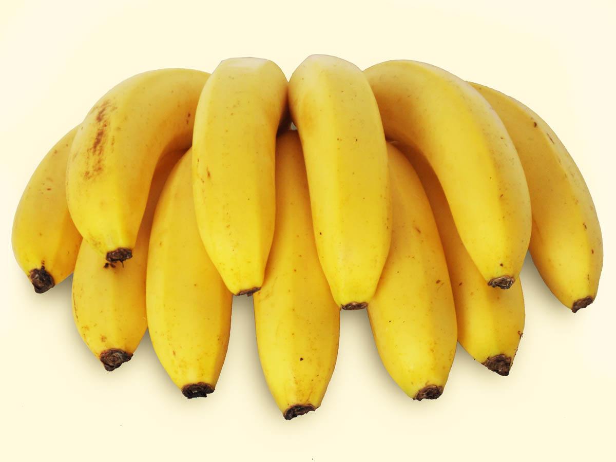 Foto de um cacho de Banana Nanica - Taubafrut