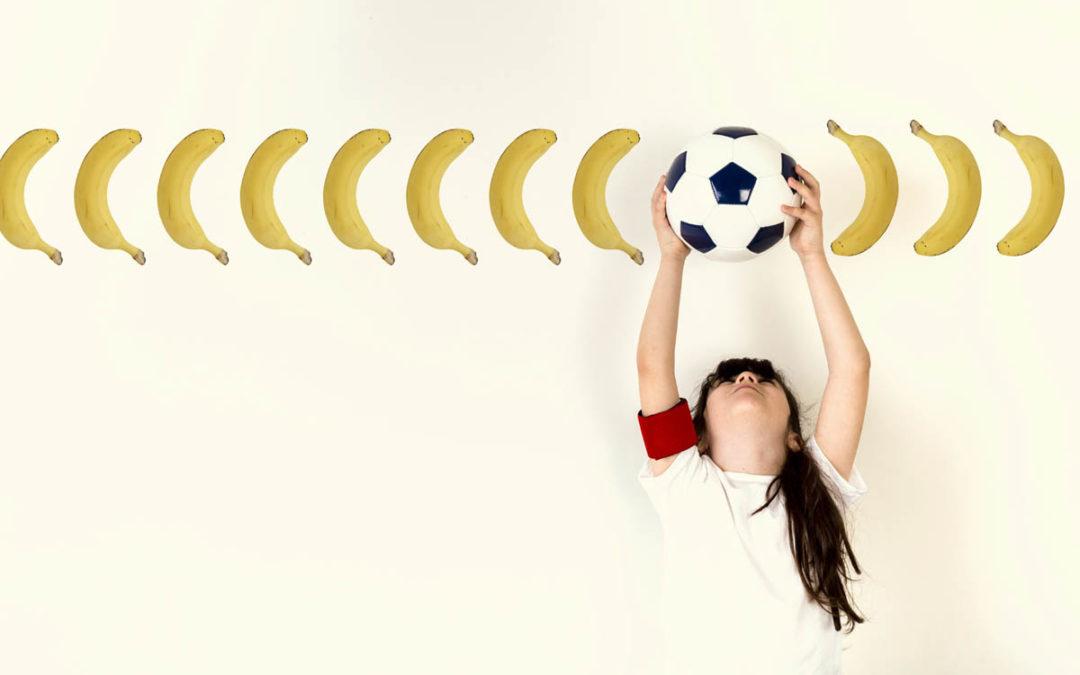 Banana e Futebol, uma escalação de nutrientes campeã