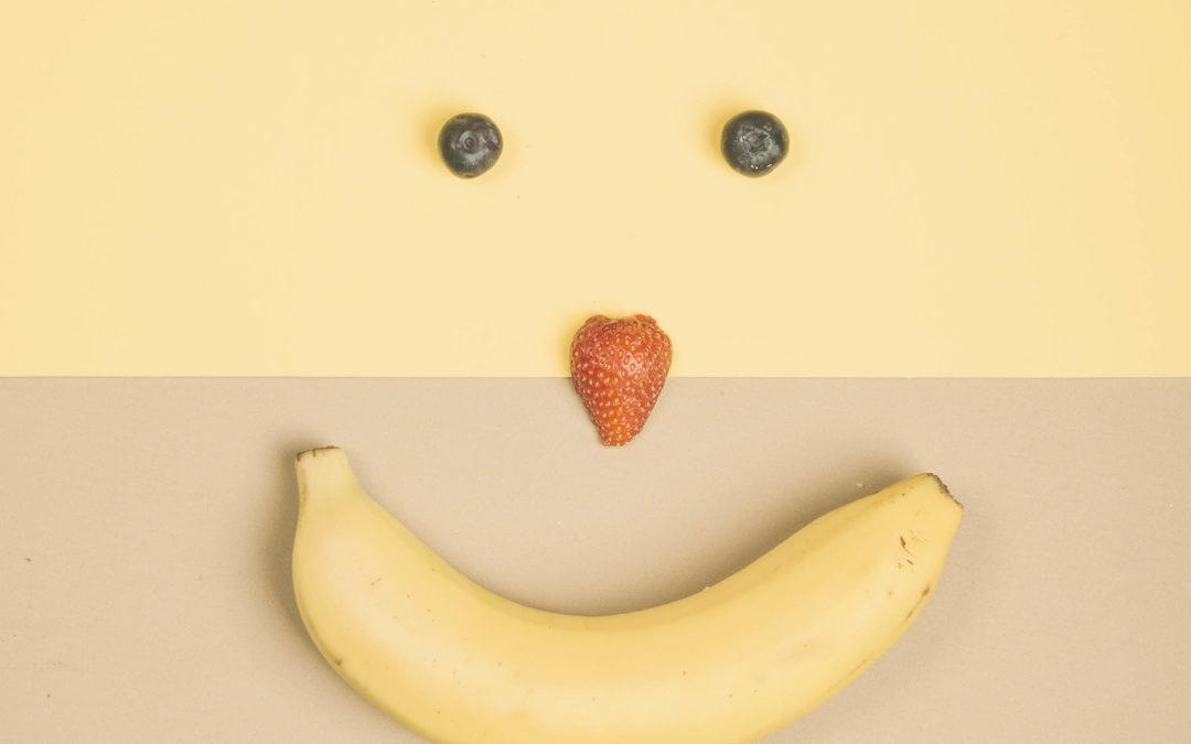 Banana tem nutrientes importantes para saúde mental